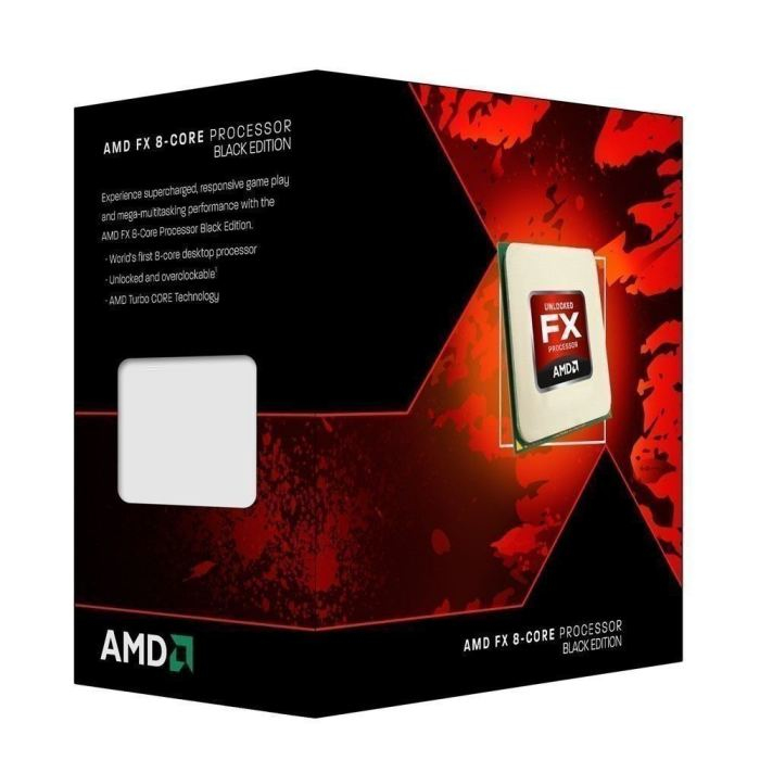 CPU AMD AM3+ FX-8320 8X3.5GHZ/8MB BOX