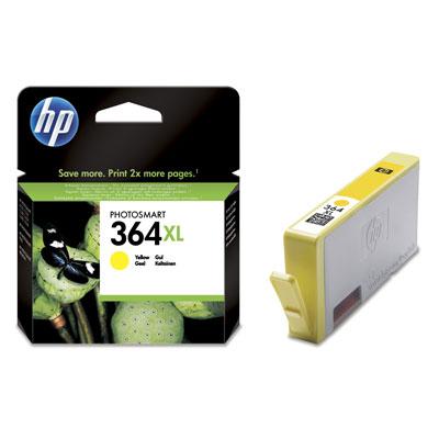 CARTUCHO ORIG HP Nº 364XL AMARILLO CB325EE