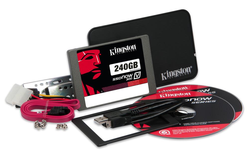 HD 2.5  SSD 240GB SATA3 KINGSTON SSDNOW V300 KIT