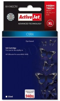 CARTUCHO COMP ACTIVEJET HP Nº 940XL C4907AE CYAN