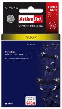 CARTUCHO COMP ACTIVEJET HP Nº 940XL C4909AE YELLOW
