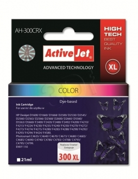 CARTUCHO COMP ACTIVEJET HP Nº 300XL COLOR