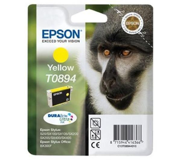CARTUCHO ORIG EPSON T0894 YELLOW