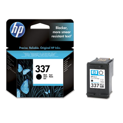 HP 337 - negro - original - cartucho de tinta
