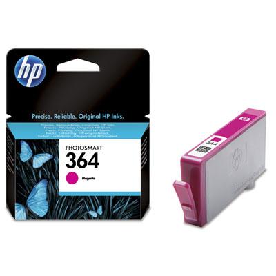 HP 364 - magenta tintado - original - cartucho de tinta