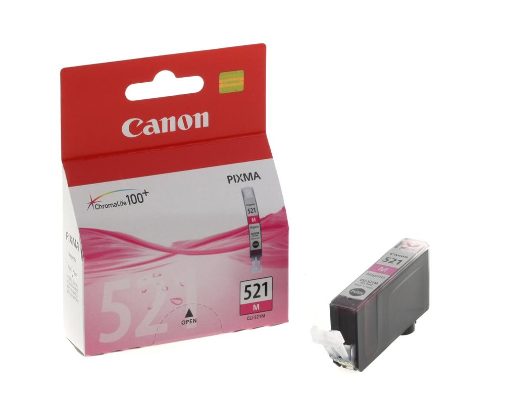 CARTUCHO ORIG CANON CLI-521M MAGENTA