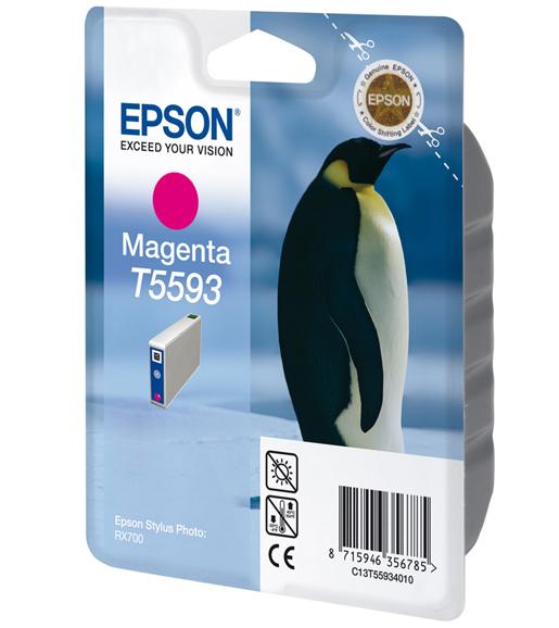 CARTUCHO ORIG EPSON T5593 MAGENTA