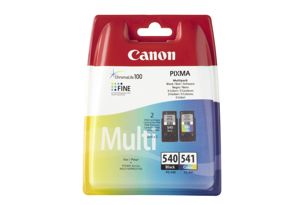 CARTUCHO ORIG CANON PACK PG-540/CL-541 NEGRO/COLOR
