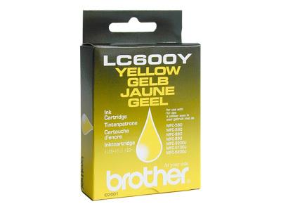 CARTUCHO ORIG BROTHER LC600Y YELLOW