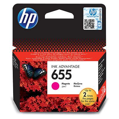 CARTUCHO ORIG HP Nº 655 MAGENTA CZ111AE