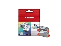 CARTUCHO ORIG CANON BCI-15 PACK 2 COLOR
