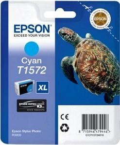CARTUCHO ORIG EPSON T1572XL CYAN