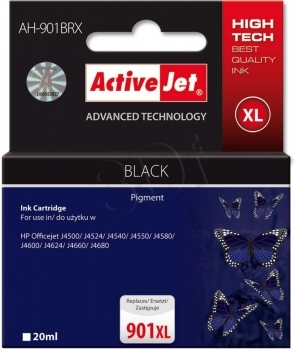CARTUCHO COMP ACTIVEJET HP Nº 901XL NEGRO