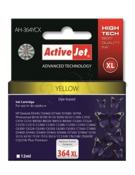 CARTUCHO COMP ACTIVEJET HP Nº 364XL YELLOW