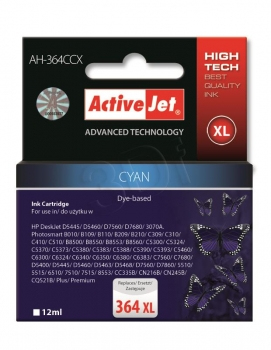 CARTUCHO COMP ACTIVEJET HP Nº 364 CYAN