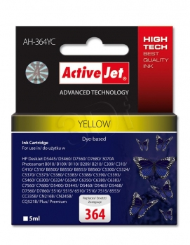 CARTUCHO COMP ACTIVEJET HP Nº 364 YELLOW