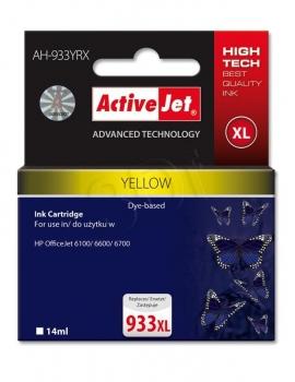 CARTUCHO COMP ACTIVEJET HP Nº 933XL AMARILLO