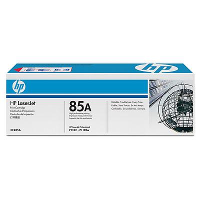 TONER ORIG HP LASERJET P1102/P1102W CE285A NEGRO