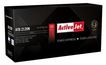 TONER COMPATIBLE BROTHER TN-2120 ACTIVEJET NEGRO