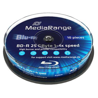 CONSUMIBLE MEDIARANGE BD-R 25GB 25PCS 4X TARRIN