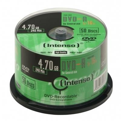 Intenso - DVD-R x 50 - 4.7 GB - soportes de almacenamiento