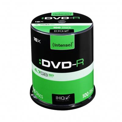 Intenso - DVD-R x 100 - 4.7 GB - soportes de almacenamiento