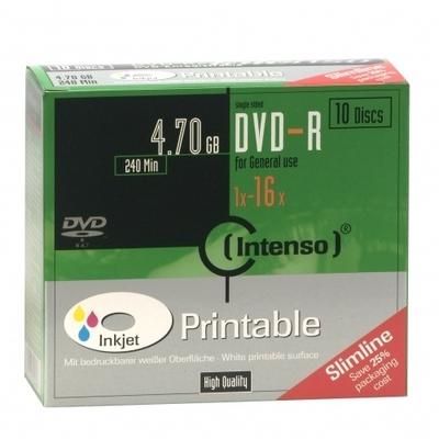 Intenso - DVD-R x 10 - 4.7 GB - soportes de almacenamiento