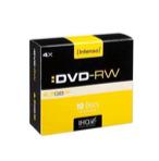 CONSUMIBLE INTENSO DVD-RW 4.7GB 10PCS 4X CAJA