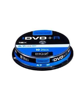 Intenso - DVD+R x 10 - 4.7 GB - soportes de almacenamiento