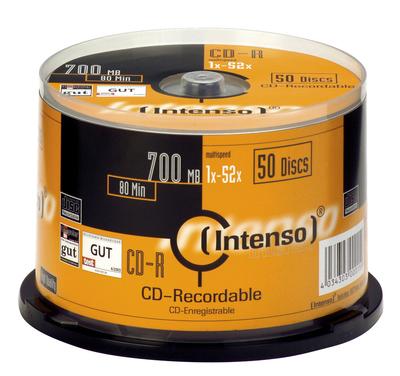 Intenso - CD-R x 50 - 700 MB - soportes de almacenamiento