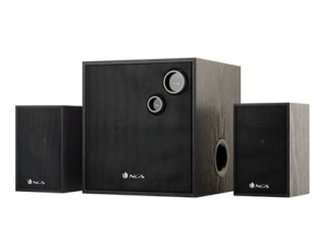 ALTAVOCES 2.1 NGS BRASS 2.1 NEGRO