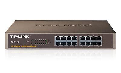 TP-Link TL-SF1016 - conmutador - 16 puertos