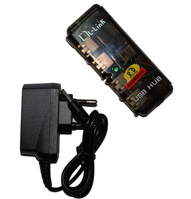 LL-UH-404L - USB 2.0, 1.5m, Negro