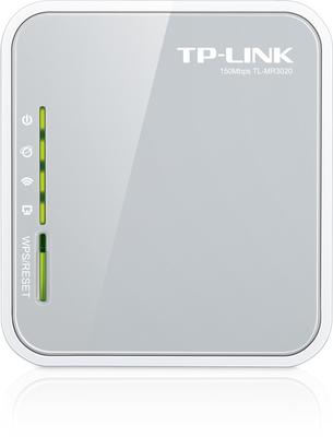 TP-LINK TL-MR3020 - enrutador inalámbrico - 802.11b/g/n - sobremesa