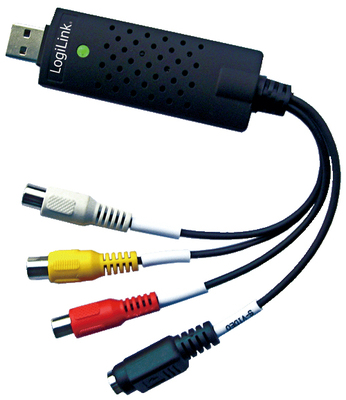 LogiLink USB 2.0 Audio und Video Grabber - adaptador de captura de vídeo - USB 2.0