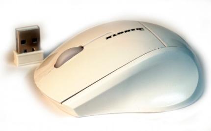RATON OPTICO KL-TECH MINI WIRELESS BLANCO USB