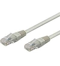CABLE RED UTP CAT5E RJ45 WENTRONIC 0.5M
