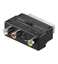 goobay adaptador de vídeo / audio