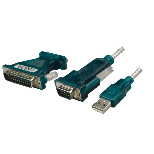 ADAPTADOR USB A SERIE RS232 +ADAP LOGILINK UA0042A
