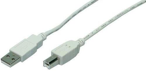 CABLE USB(A) 2.0 A USB(B) 2.0 LOGILINK 5M