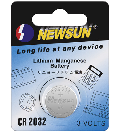 PILA BOTON CR2032 NEWSUN 3V PARA PLACAS BASE