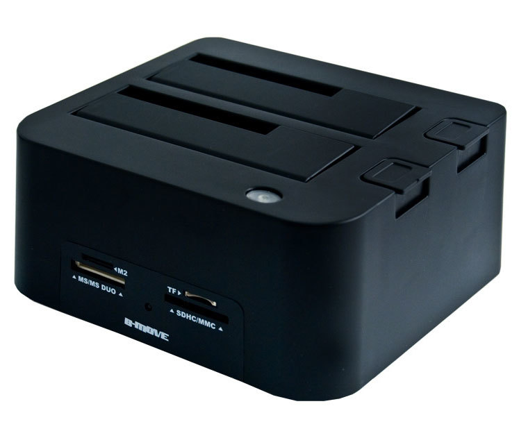 DOCKING STATION B-MOVE HD 2.5/3.5  SATA A USB 2.0