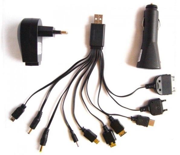CARGADOR USB CASA+COCHE L-LINK