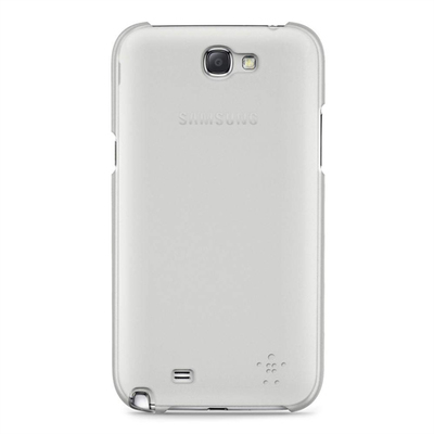 Belkin Shield Sheer Matte - estuche para teléfono móvil