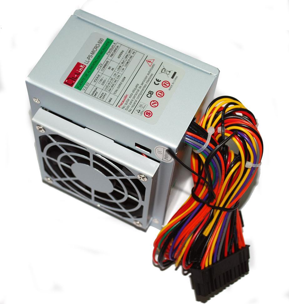 FUENTE SFX 500W L-LINK LL-PS-MICRO-500