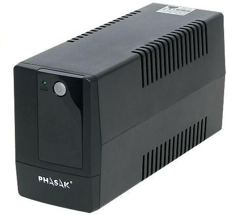 Sai/Ups 600Va Phasak Interact Avr  2Xschuko Ph9406