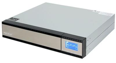 Phasak Pro-Rack 1000 VA Online LCD - UPS - 800 vatios - 1000 VA