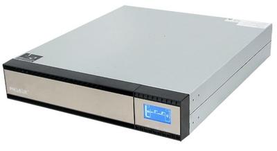Phasak Pro-Rack 2000 VA Online LCD - UPS - 1600 vatios - 2000 VA