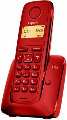 Gigaset A120 - teléfono inalámbrico con ID de llamadas
