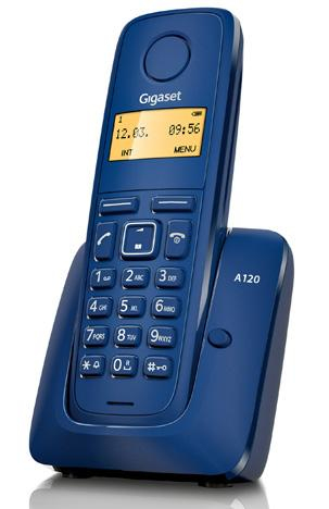 TELEF. INALAMBRICO DECT DIGITAL GIGASET A120 AZUL